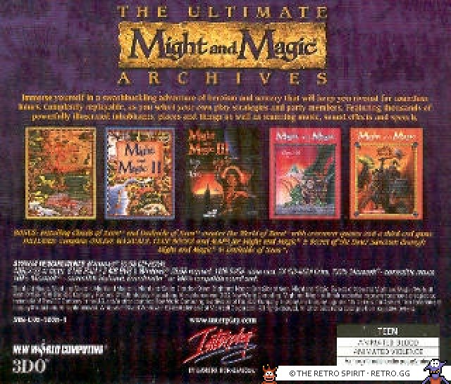 A special edition/collection for the all the games in the Might and Magic series.