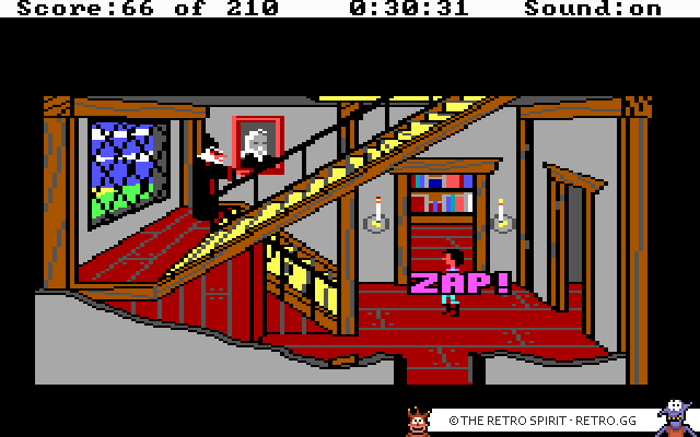 Skjermbilde fra King's Quest III: To Heir is Human