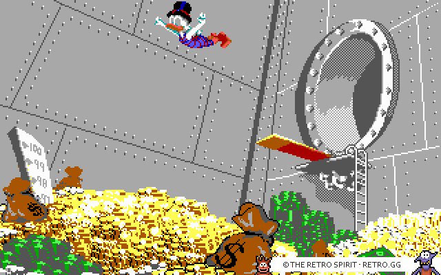 Skjermbilde fra Duck Tales: The Quest for Gold