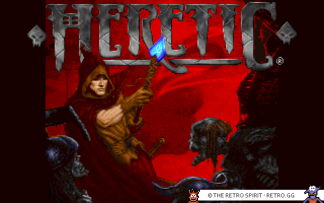 Skjermskudd fra Heretic: Shadow of the Serpent Riders