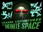 Skjermskudd fra Strange Adventures in Infinite Space