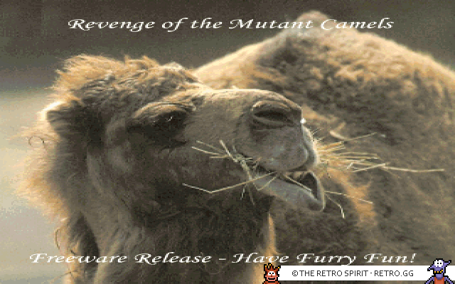 Skjermskudd fra Revenge of the Mutant Camels