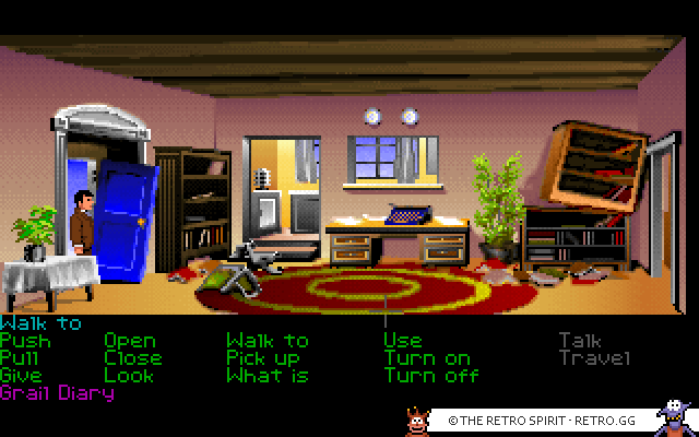 Skjermskudd fra Indiana Jones and The Last Crusade: The Graphic Adventure