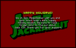 Skjermbilde fra Jazz The Jackrabbit: Holiday Hare '94