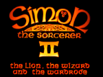 Skjermskudd fra Simon the Sorcerer II: The Lion, The Wizard and The Wardrobe.