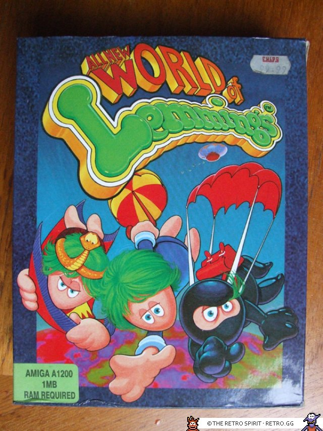All new World of Lemmings front cover