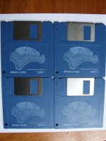 All new World of Lemmings packaging amiga diskettes