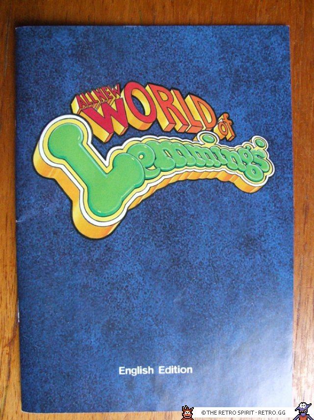 All new World of Lemmings manual