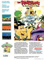 The Flintstones Advertisement