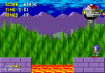 Sonic the Hedgehog (Sega Megadrive)