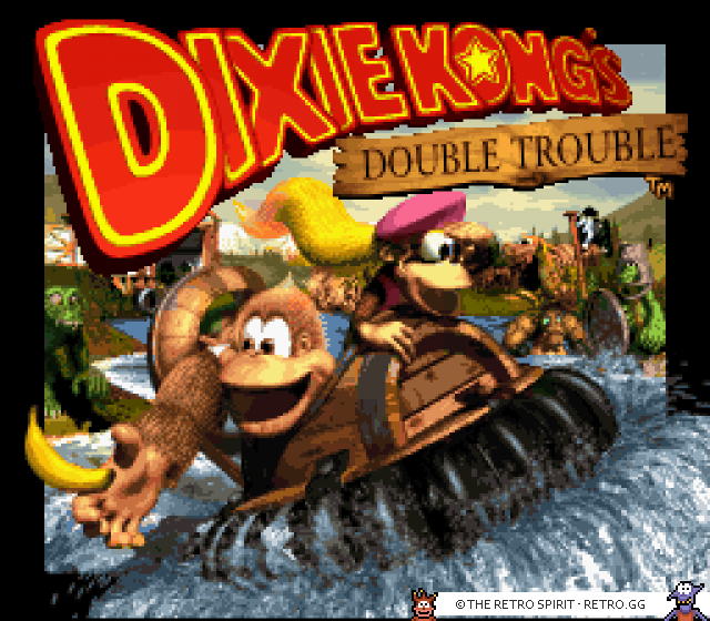 Donkey Kong Country 3 - Dixie Kong's Double Trouble