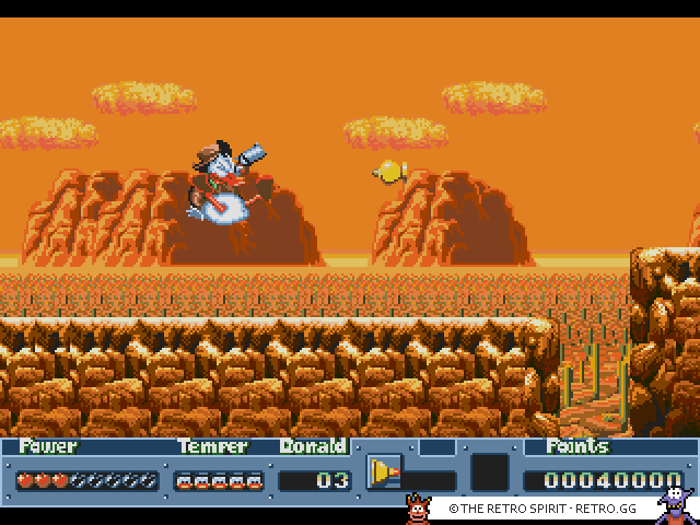 QuackShot starring Donald Duck