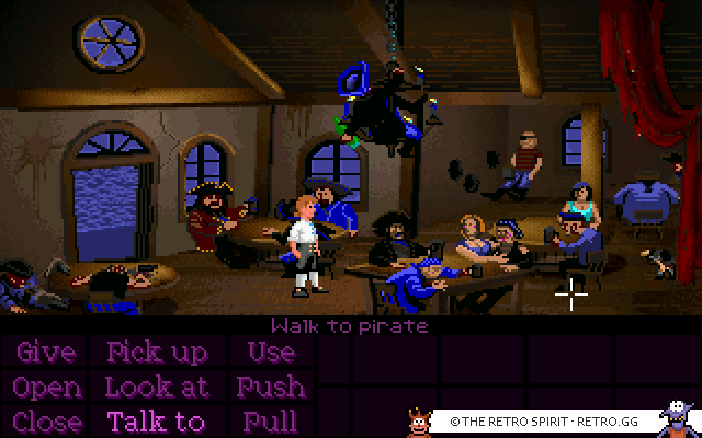 Skjermbilde fra The Secret of Monkey Island