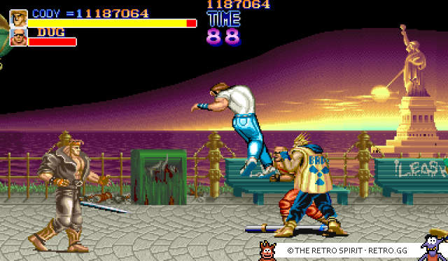 Final Fight (Arcade, MAME)