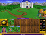 Skjermbilde fra Heroes of Might and Magic