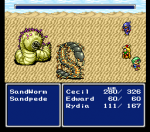 Final Fantasy IV (Named Final Fantasy II when released in the west)