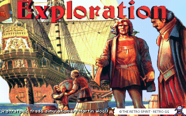 Exploration Title Screen