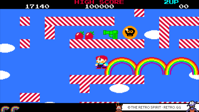 Rainbow Islands (Amiga, 1990)