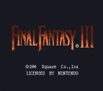 Final Fantasy VI (SNES, 1994) - Introductory parts