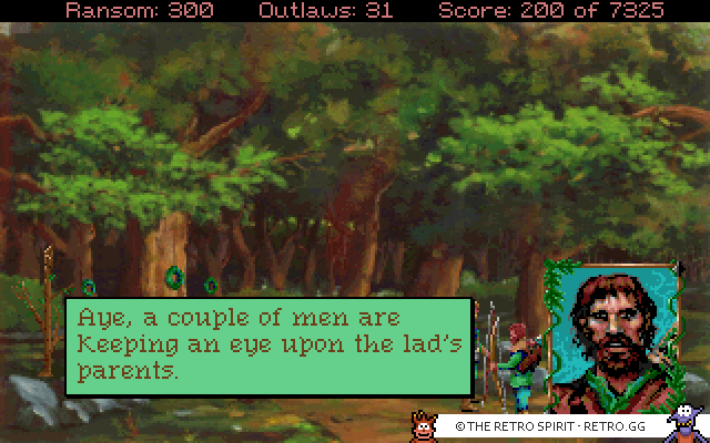 Conquests of the Longbow: The Legend of Robin Hood (DOS, 1991)