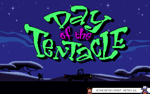 Skjermbilde fra Day of the Tentacle