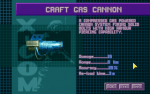 Craft Gas Cannon details in the UFOpedia.