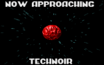 Each planet has their own introduction screen. This is the one for technoir.