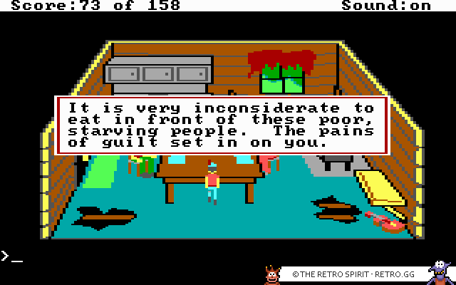 Skjermbilde fra King's Quest: Quest for the Crown