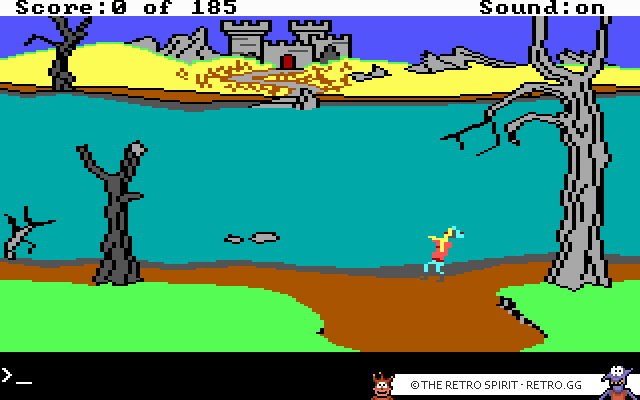 Skjermbilde fra King's Quest II: Romancing the Throne