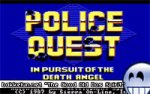 Skjermbilde fra Police Quest - In Pursuit of the Death Angel