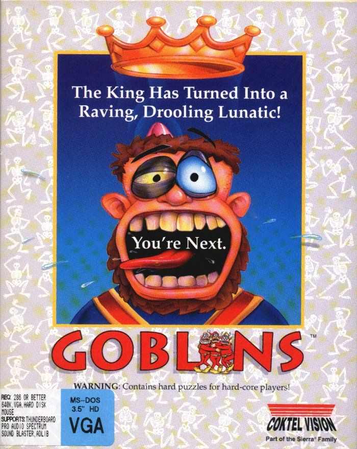 Game cover for Gobliiins