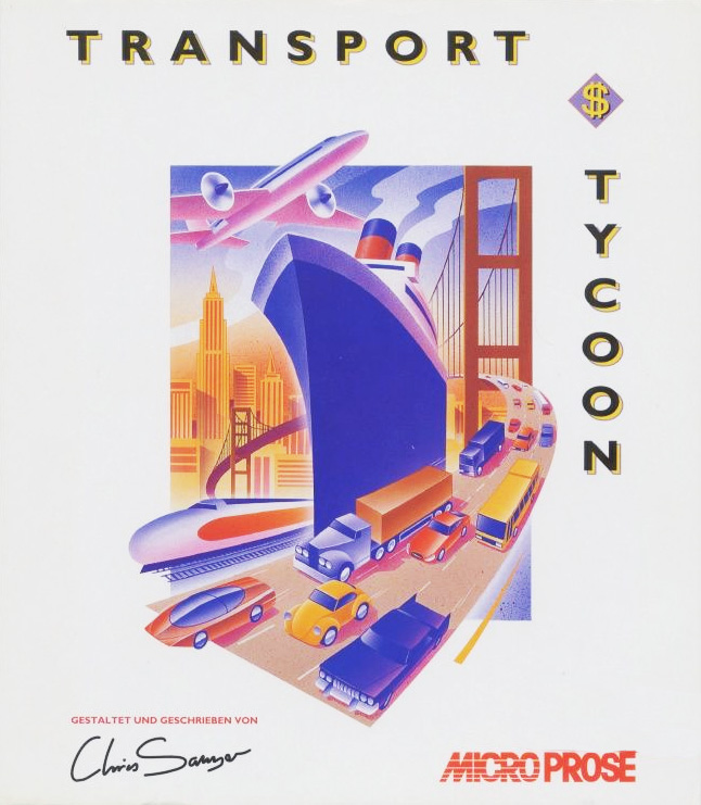 Game cover for Transport Tycoon
