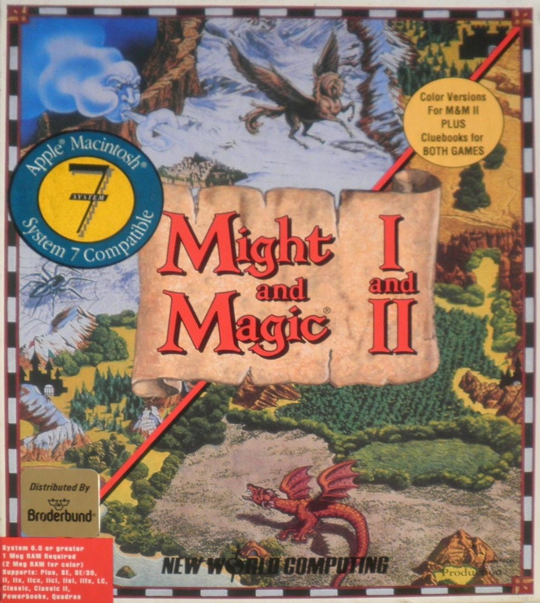 Game cover for Might and Magic II: Gates to Another World