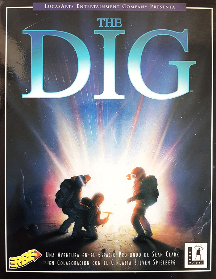 Game cover for The Dig