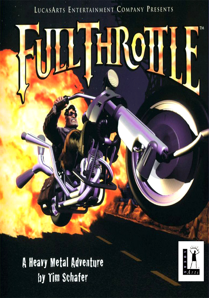 Game cover for Full Throttle