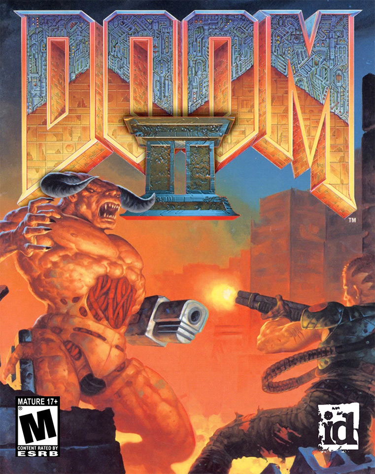 Game cover for Doom II: Hell on Earth