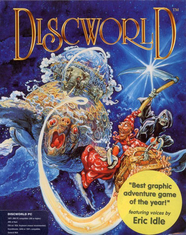 Game cover for Discworld
