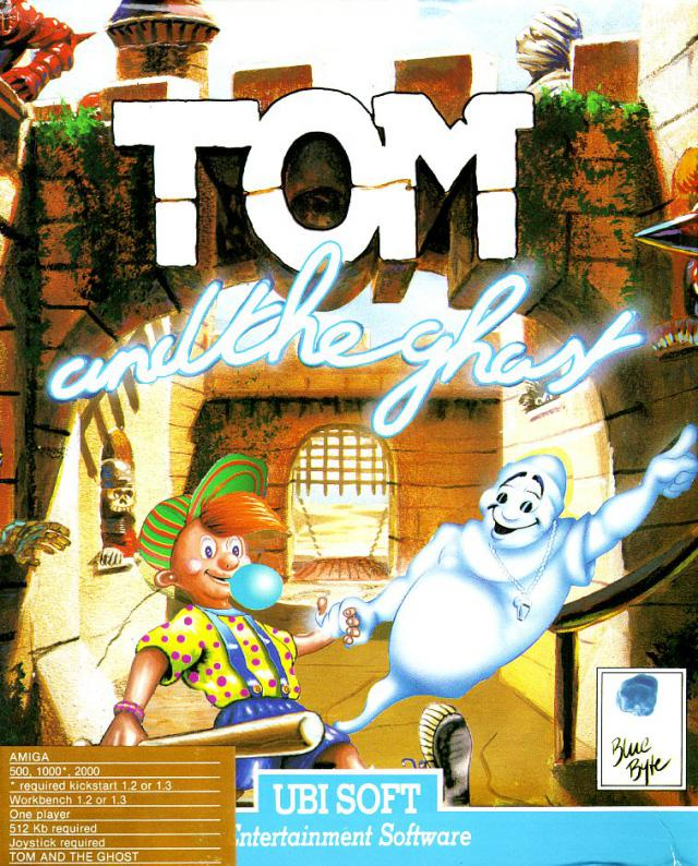 Game cover for Tom and the Ghost