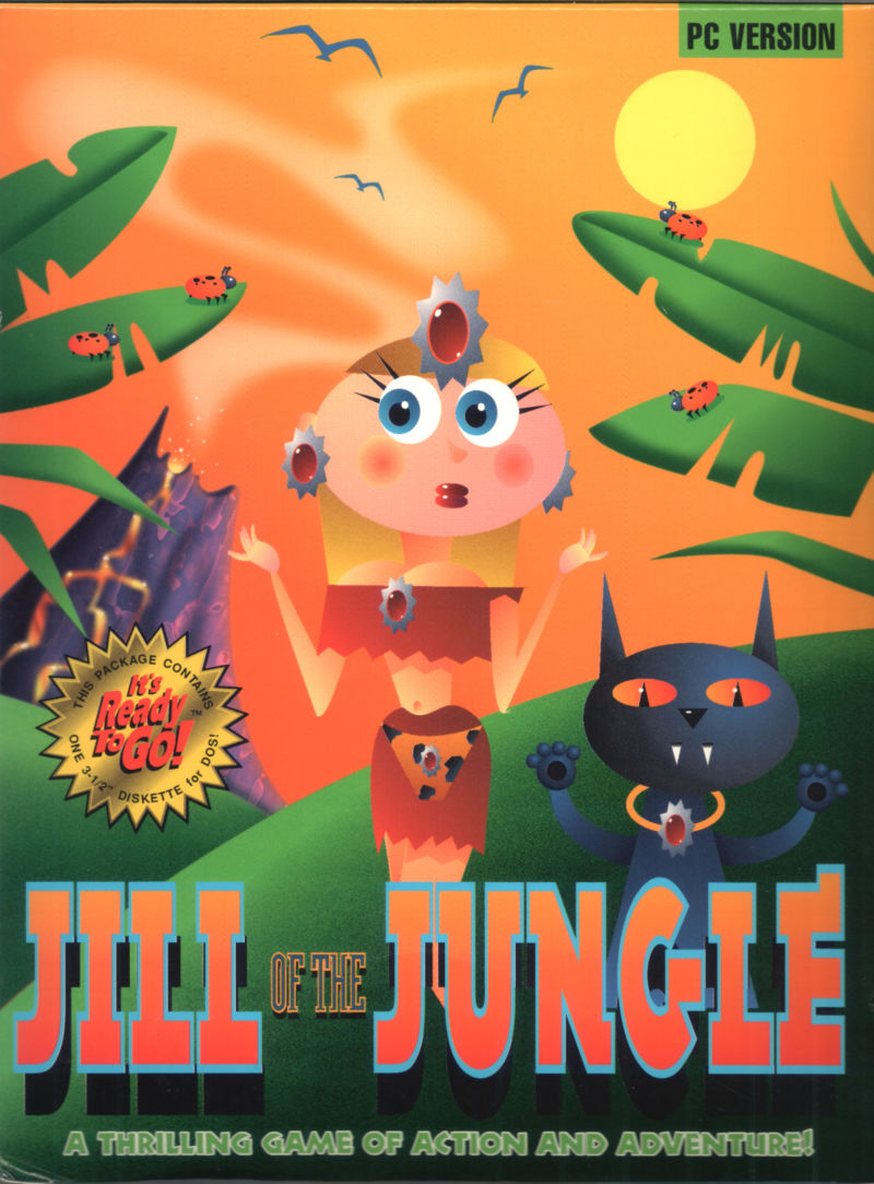 Game cover for Jill of the Jungle