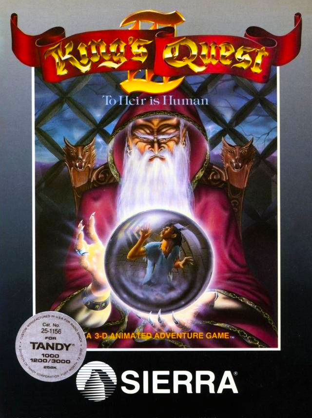 Game cover for King's Quest III: To Heir is Human