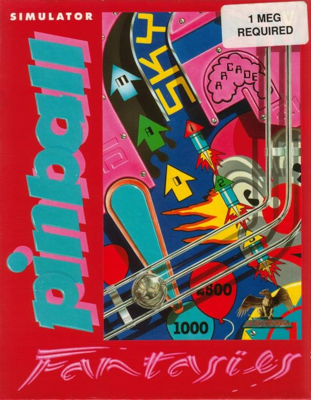 Game cover for Pinball Fantasies