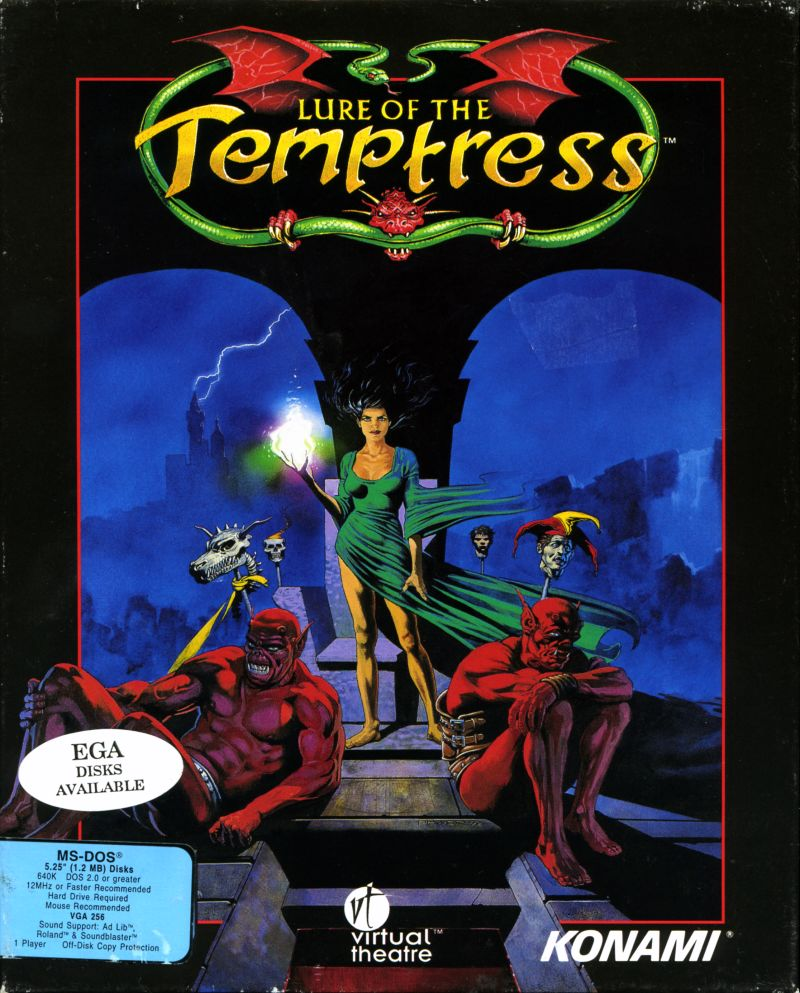 Game cover for Lure of the Temptress