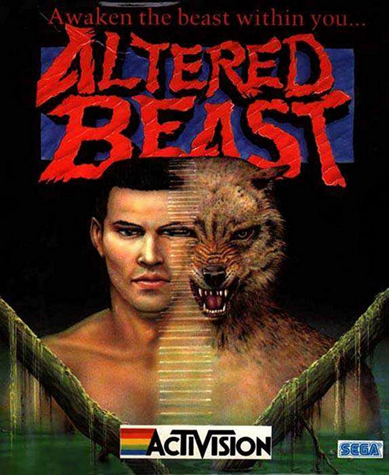 Game cover for Altered Beast