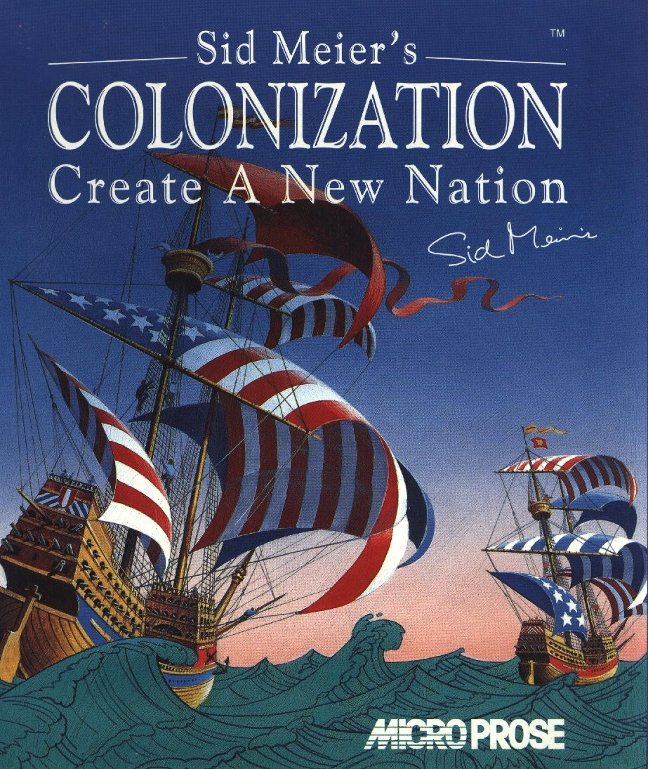 Game cover for Colonization