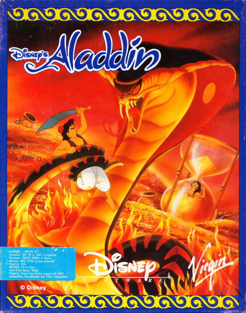 Game cover for Disney's Aladdin