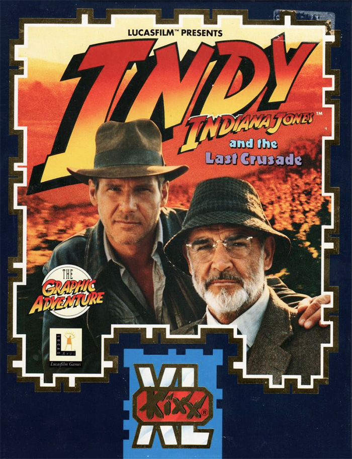 Game cover for Indiana Jones and The Last Crusade: The Graphic Adventure
