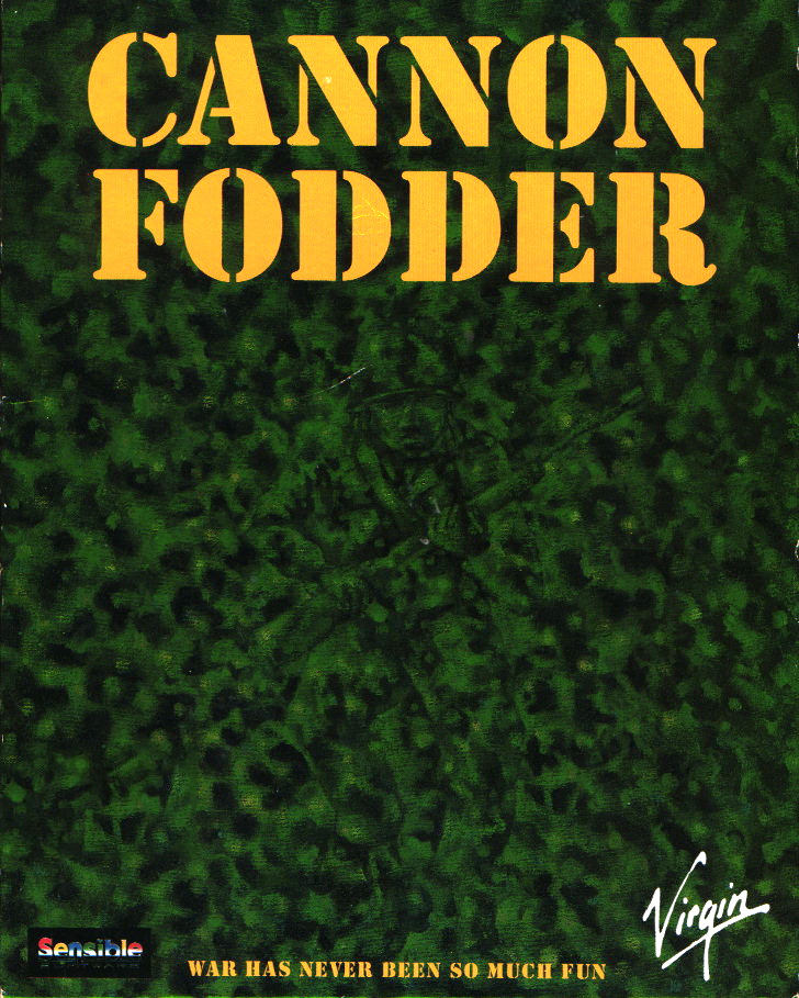 Game cover for Cannon Fodder