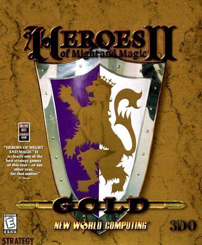 Game cover for Heroes of Might and Magic II: The Succession Wars