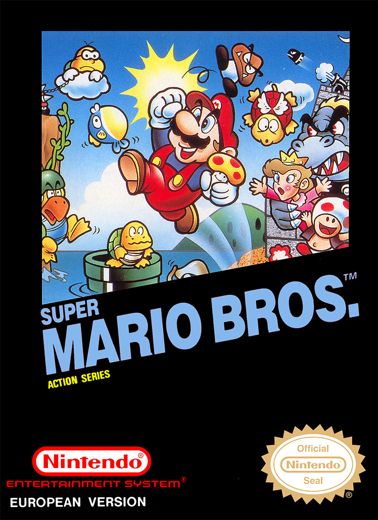 Game cover for Super Mario Bros.
