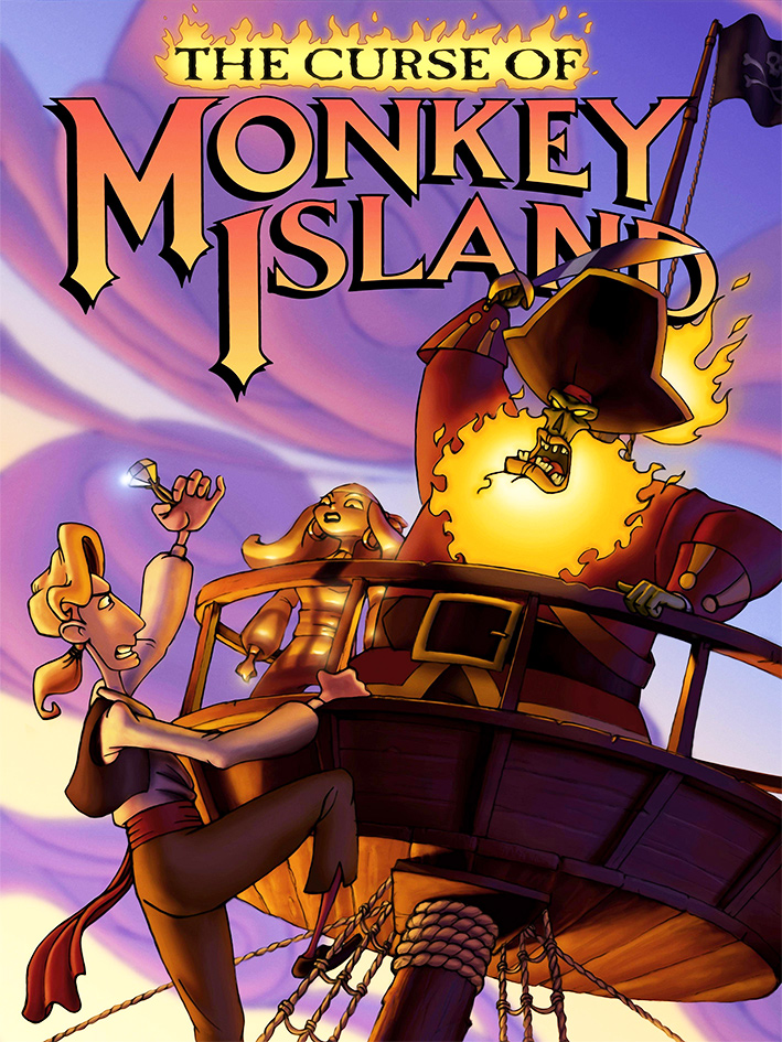 Game cover for The Curse of Monkey Island